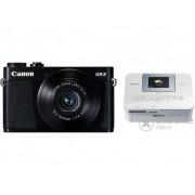 Aparat foto Canon PowerShot G9X, negru