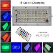 MLD RGB Remote Controlled Light LED Flood Light 50 Watt (NEW550I) Festive Birthday Stage Color Decoration New Design