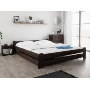 Emily ágy 180x200 cm, diófa Matrac: Economy 10 cm matraccal, Ágyrácsok: Deszkás ágyráccsal