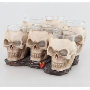 verres (ensemble) Crânes - 816-4534