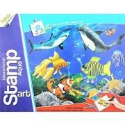 Ratna's Educational Stamp Art Aqua