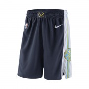 Denver Nuggets Nike Icon Edition Swingman NBA-Shorts für Herren - Blau