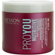 Revlon Professional Pro You Nutritive máscara para cabelo seco 500 ml