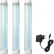 X-EON L18 SMD With Long Backup Emergency Light Emergency Light -Mix Color ( Pack of 3 )