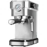 Espressor de cafea MPM MKW-08M, Presiune 20 Bari, Putere 1350 W, Sistem Cappucino, Corp Inox, Manometru presiune