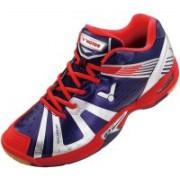 Victor Sh-A930-B Badminton Shoes For Men(Blue, Silver)