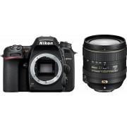Nikon »D7500 KIT AF-S DX« Spiegelreflexkamera (AF-S DX NIKKOR 16-80 mm 1:2,8-4E ED VR, 20,9 MP, WLAN (Wi-Fi), Gesichtserkennung)