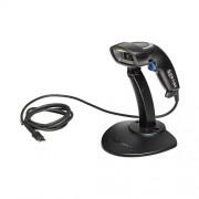 Баркод скенер Honeywell SG20T четец, USB, стойка, черен