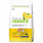 Trainer Natural Adult Small & Toy Pollo fresco & Riso - Set %: 2 x 7 kg