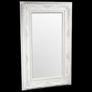 Elizabeth White with Silver Traditional Mirror