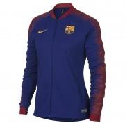 Veste de football FC Barcelona Anthem pour Femme - Bleu