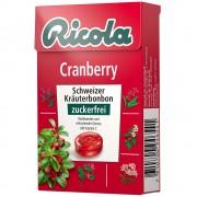 Queisser Pharma GmbH & Co. KG Ricola® Schweizer Kräuterbonbons Box Cranberry ohne Zucker