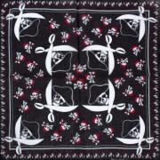Batic dama de vara Pami bumbac D1117-348-5 Alb/Negru