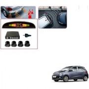 Auto Addict Car Black Reverse Parking Sensor With LED Display For Hyundai Grand i10