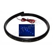 Banda flexibila 60 cm, 24 LEDuri albastra XL-501