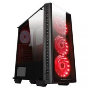 Кутия Xigmatek Astro A, ATX / Mini ITX / Micro ATX, 1x USB 3.0 / 2x USB 2.0, черен, без захранване
