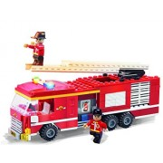 COGO 3611 lego blocks Fire Fighter trucks - 319pcs