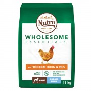 Nutro Wholesome Essentials Adult Large Dog с пиле и ориз - 2 x 11 кг