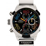 Ceas barbatesc Haemmer CR-04 Grand Creator Claude Chrono 48mm 10ATM