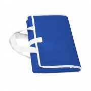 Rogojina de plaja, pliabila, 155x80 cm, Everestus, ESP006, polipropilena, albastru royal, saculet inclus