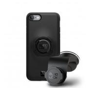 Quad Lock Car Kit - уникална поставка за кола с удароустойчив кейс за iPhone 8, iPhone 7