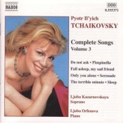 P.I. Tchaikovsky - Complete Songs Vol.3 (0747313537129) (1 CD)