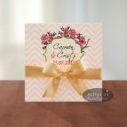 Invitatie nunta Flori de vis