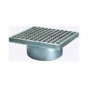 Sifon Kessel 57415, Stainl. steel upper section, 300x300mm