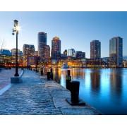 Fototapeta FTNXXL 1123 Fototapeta, vliesová 360x270cm. Nábrežie Boston
