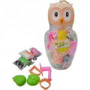 Toys Factory Stylish Owl Shaped Box with Clay Specially Designed for Kids Fun Activity