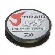 Fir Textil Daiwa J-Braid X8 Dark Green 150m