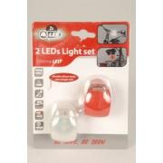 39 Cyklel ljus m. 2 LED-ljus, set av 2 stk