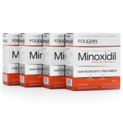 FOLIGAIN MINOXIDIL 5% HAIR REGROWTH TREATMENT For Men 12 Month Supply