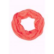 Kayla letní kroucený šál červená