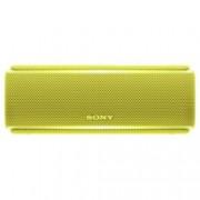 Тонколона Sony SRS-XB21, 2.0, безжична, с Bluetooth, NFC, с микрофон, IP67, жълта