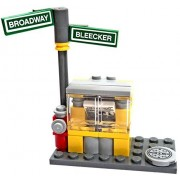 LEGO Items Newspaper Stand on the Corner [Loose]