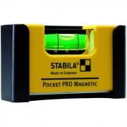Stabila Pocket PRO Magnetic Fickvattenpass