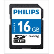 Card memorie SDHC, clasa 10, PHILIPS - 16GB