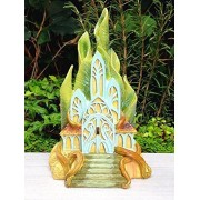 My Fairy Gardens Miniature - Classic Fairies Castle House - Mini Dollhouse Supply Expressions