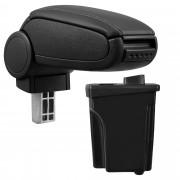 [pro.tec]® Lakťová opierka pre Hyundai I30 GD - lakťová opierka - s odkladacím priestorom - koženka - čierna