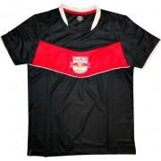 Camiseta Red Bull Brasil Futebol Jogo Chevron - P
