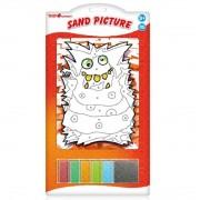 Set pictura cu nisip, Monster