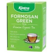 Organic Formosan Green Tea Filter Bags x32