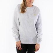 Carhartt WIP W' Script Embroidery Sweat I027477 ASH HEATHER/LIME