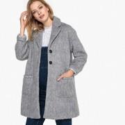 Manteau mi-long fermeture boutonnée