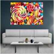 Tablou canvas Lollipops, 120x80 cm