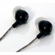 Pack of 2 Brand New Heavy Bass Earphones with 3.5mm Jack and mic - Black