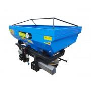 Masina de imprastiat ingrasaminte Bufer model BFRMIG Pro, 1600 litri, discuri zincate