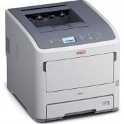Imprimanta monocrom OKI B721dn Digital Led, A4, 47 ppm, Retea (Alb)
