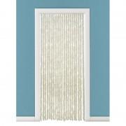 Geen Vliegengordijn/deurgordijn kattenstaart beige/wit 93 x 230 cm